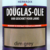 Hermadix Douglas Olie Dim Grey 0,75 Liter