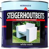 Hermadix Steigerhoutbeits Whitewash 2,5 Liter