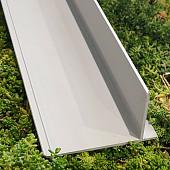 Scheidingsprofiel PVC + klittenbandstrip 2M1
