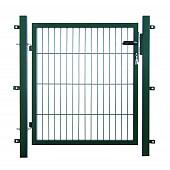 Enkele poorten groen RAL 6005 (Compleet)