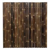 Bamboescherm bruin nigra