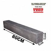 Decor Block XL Antraciet 80x12,5x12,5cm