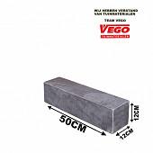 Blue Stone stapel element 50x12x12 cm. gezoet