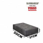 Schellevis Halve Traptrede 50x37x15cm Carbon