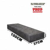 Schellevis Traptrede 100x37x15cm Carbon