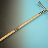 Asfalthark OFFNER met 14 rechte tanden, met Essen steel DIK 170 x 3,4cm.