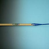 Bietenhak gesmeed 24 cm. met steel 170 x 3,0 cm. excentrische punt.