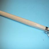 Inhaksteel taps 270 x 4,5 cm. met zeisring 656900.